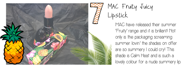 MAC fruity review
