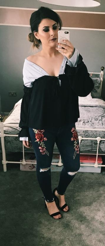 adjusted shirt and top