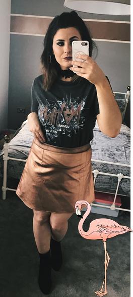 adjusted skirt